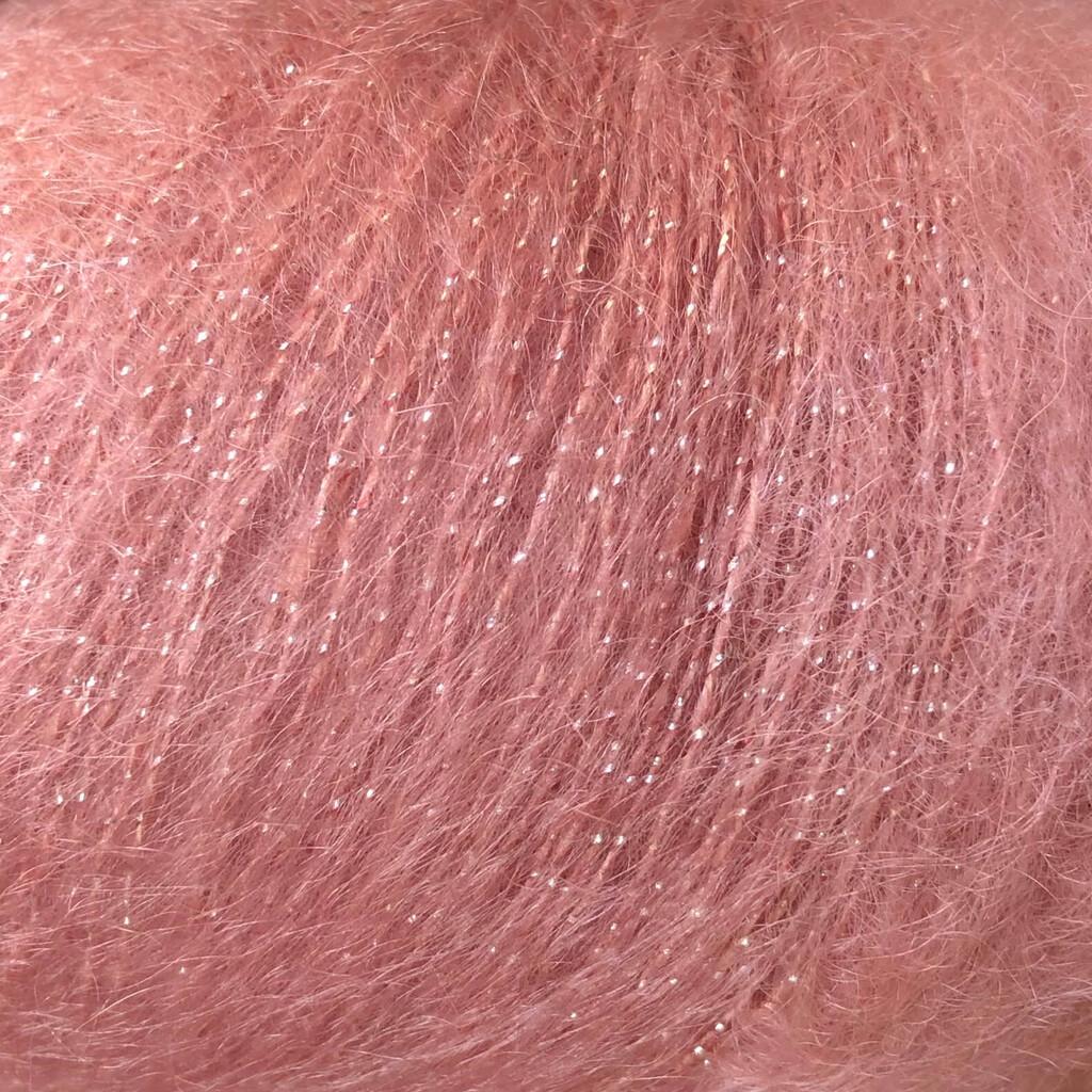 Silk mohair LUX (14393/розовое дерево)