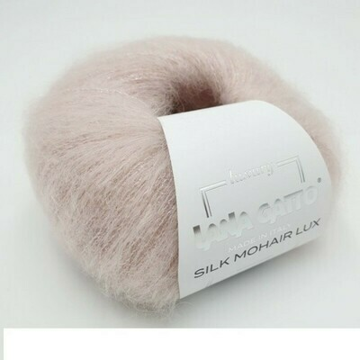 Silk mohair LUX  (6023/Пудровый)