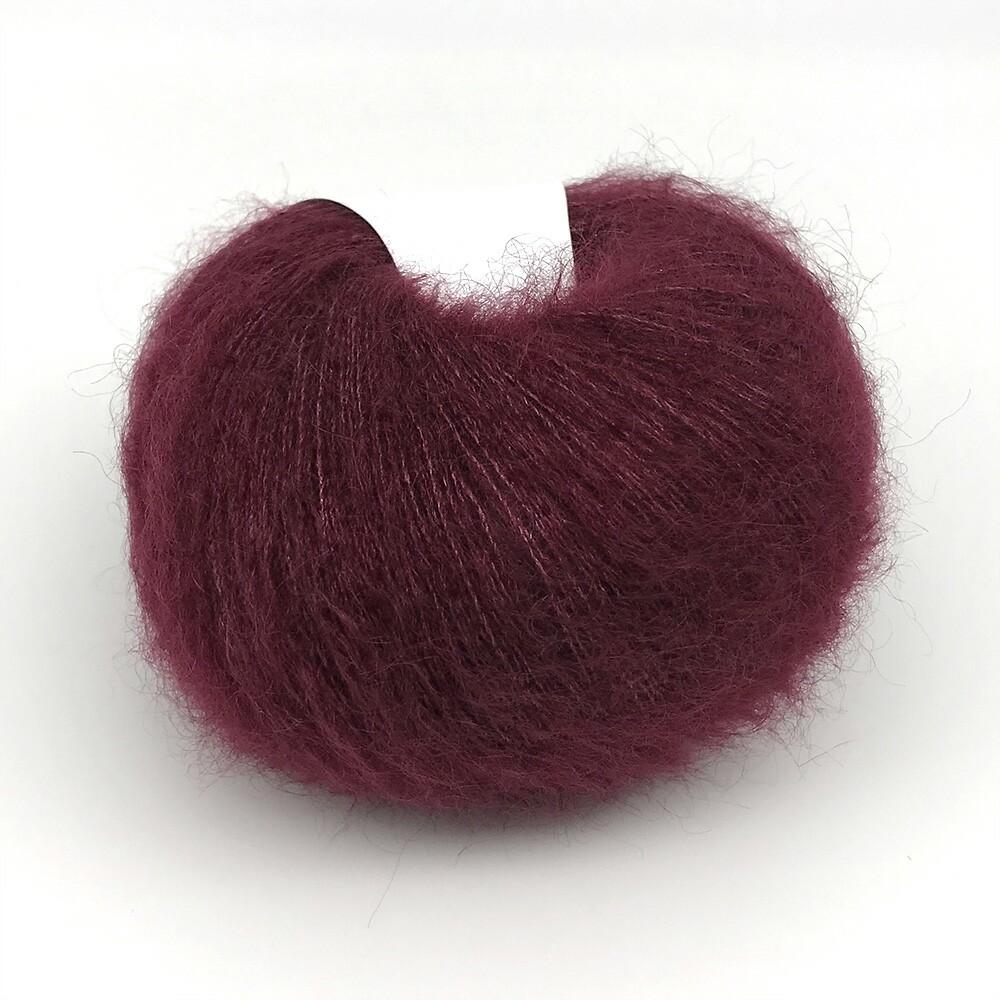Silk mohair  (7261/Бургунд)