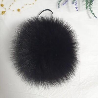 Песец финский (черный) 16см