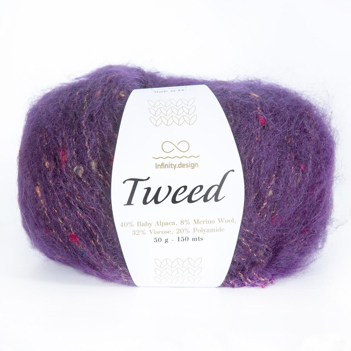 Tweed (5229/Пурпурный)