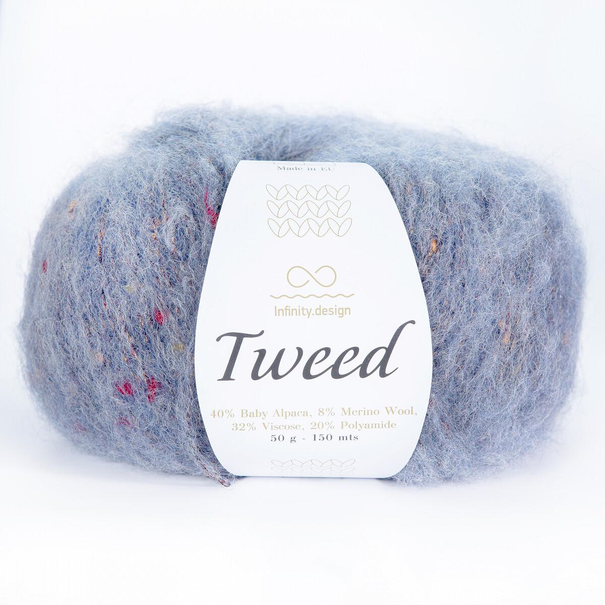 Tweed (6070/Серо-голубой)