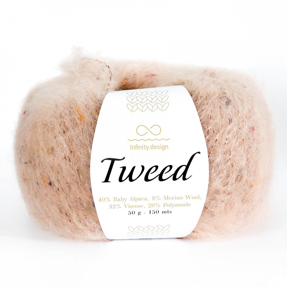 Tweed (3522/Пудровый)