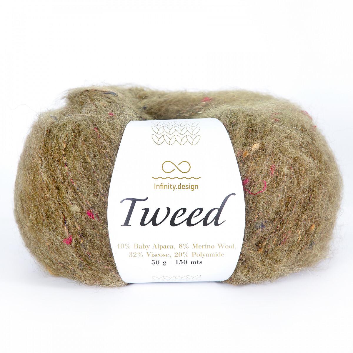Tweed (9573/Зеленый мох)