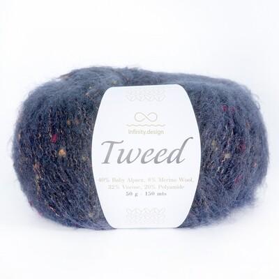 Tweed (6081/Темно-синий)