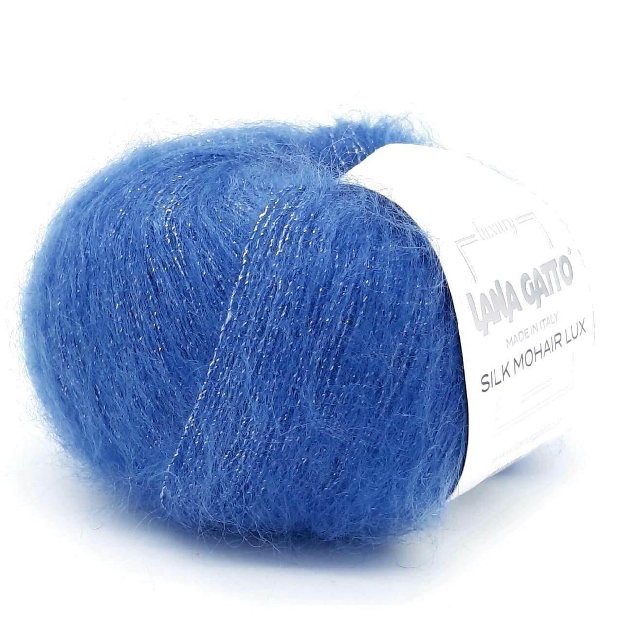 Silk mohair LUX (8397/васильковый)