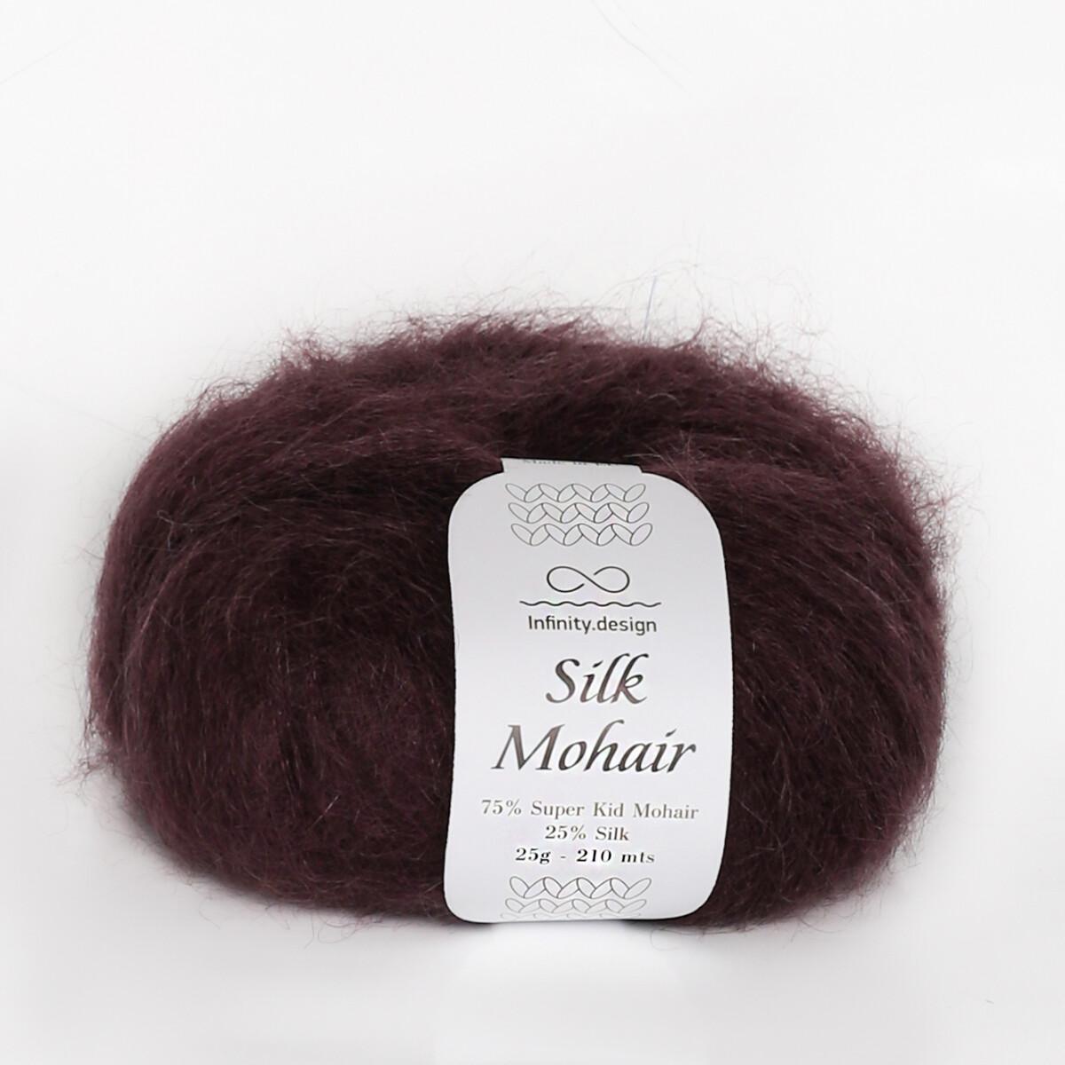 Silk mohair (4855/Баклажан)