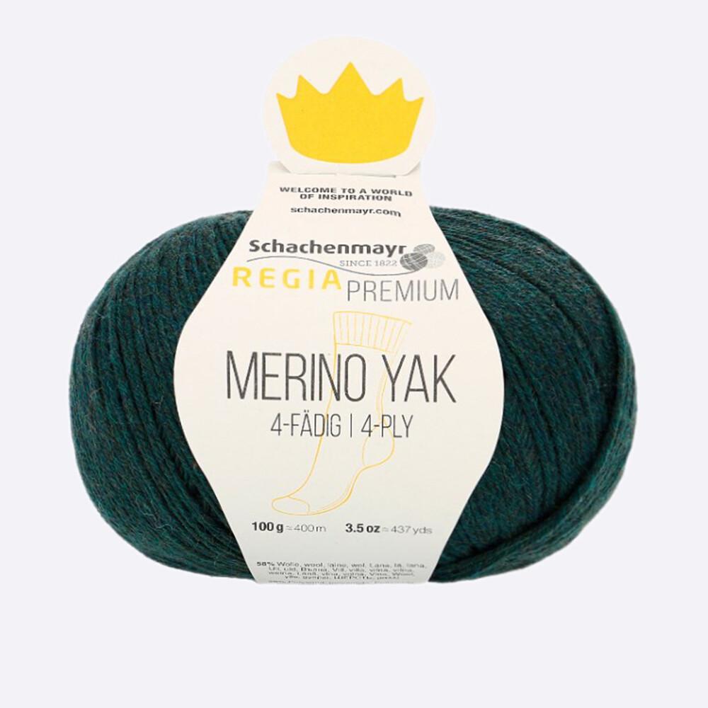Merino Yak (07514/Бирюзовый пестрый)