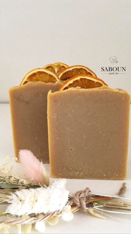 Savon Orange Tonique