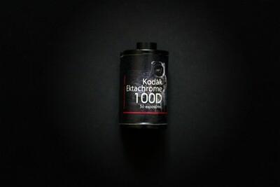 Фотопленка Kodak EKTACHROME 100D (135/36) цветная позитивная