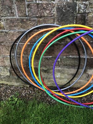 Hula hoops for DIY hoops