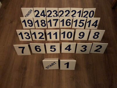 Additional numbers only (ie 21-24)