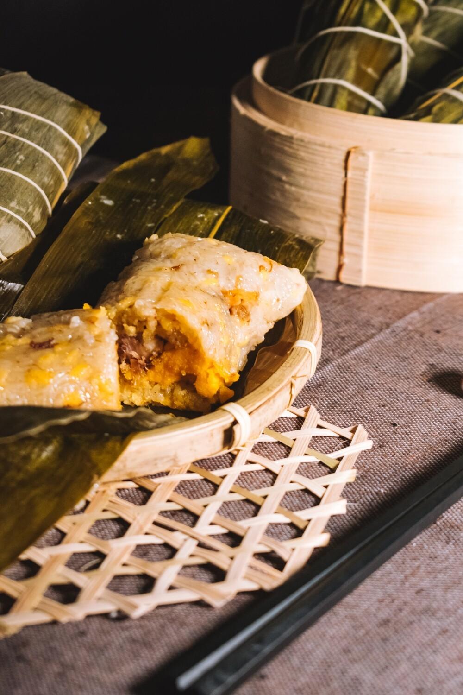 XO醬瑤柱鹹肉糉 Rice Dumpling with XO sauce and dry scaloop