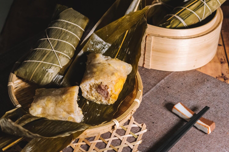 家鄉鹹肉糉 Rice Dumpling with home made marinated pork