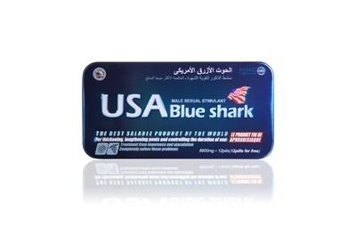 ยาแข็งอึดทน USA Blue Shark (ยูเอสเอ บลู ชาร์ค)