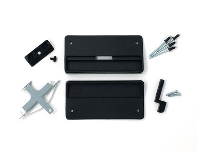 Sliding Screen Door Handle Set