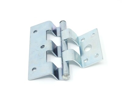 Zinc Plated Steel Offset Trailer/Mobile Home Combination Door Hinge