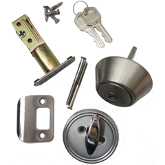 Faultless Deadbolt Lock Set