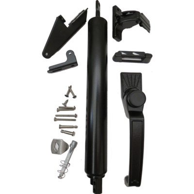 Screen/Storm Door Closer Kit with Stainless Steel Rod and Accessories