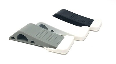 Rubber Door Stop Wedge with Holder