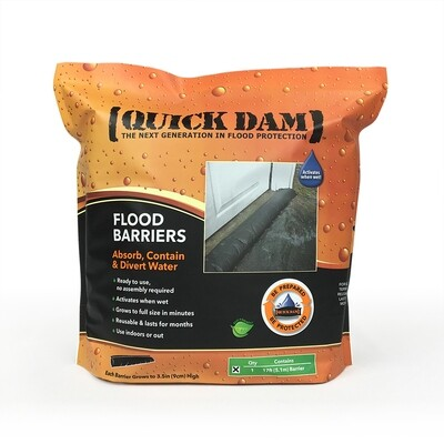 Quick Dam 17ft flood barrier - 1 pack