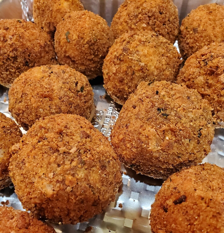 Fried Rice Balls and Marinara