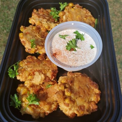 October Special #2 - Sweet Corn Cakes