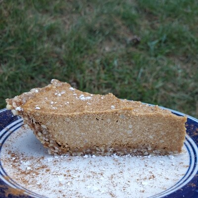 Slice of Pumpkin Cheesecake Pie - $7.99 - Limited Stock