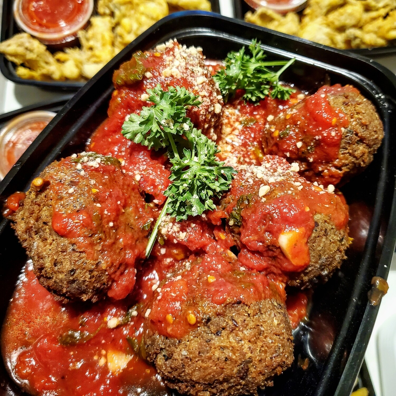 Fried Meatballs in Sauce