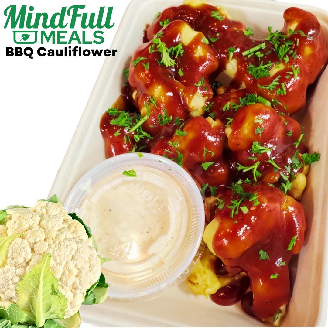 Fried BBQ Cauliflower