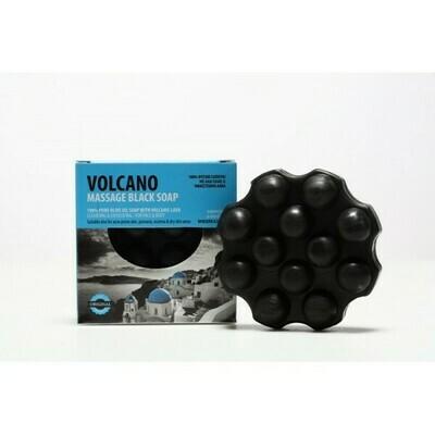 Volcano Massage Black Seife