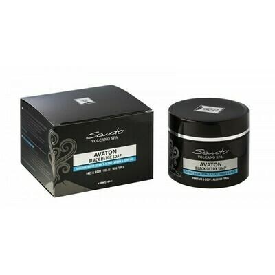 Schwarze Seife für Toxine-Entfernung Avaton 100ml