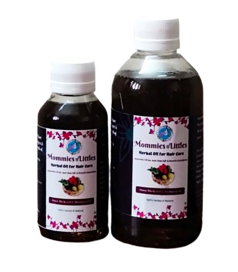 Onion Black Seed & Bringaraj Hair oil - Therapeutic Oil for Hair Growth & Anti - Dandruff