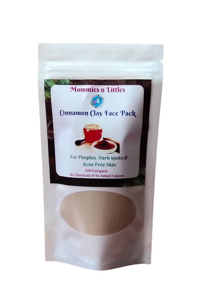 Cinnamon face mask - Pimples, Dark spots & Acne free skin ( 100 g )