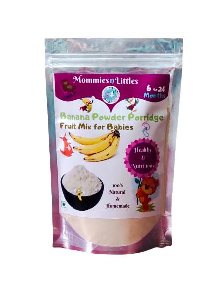 Banana Powder Porridge Mix (Rich in Potassium & Fibre) - 100% Organic - 200g