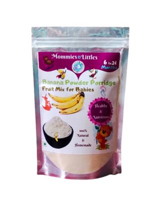 Banana Powder Porridge Mix (Rich in Potassium & Fibre) - 100% Organic