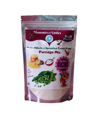 Multi millets & sprouted green peas - 100%  Organic