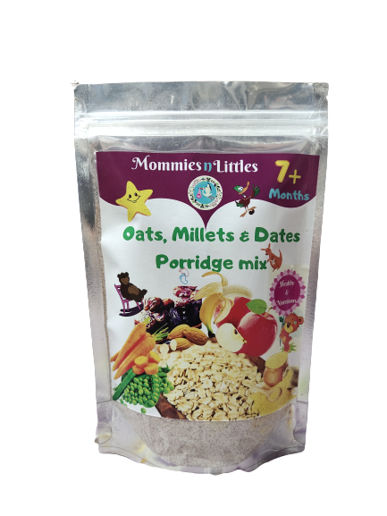 Oats & Millets with Dates