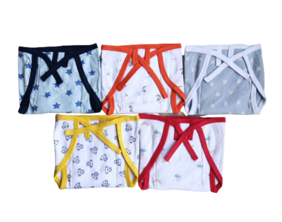 Baby Nappies - 7 to 12 months ( Pack of 5 )