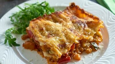 Large - Homemade Vegetable Lasagne Ready Meal