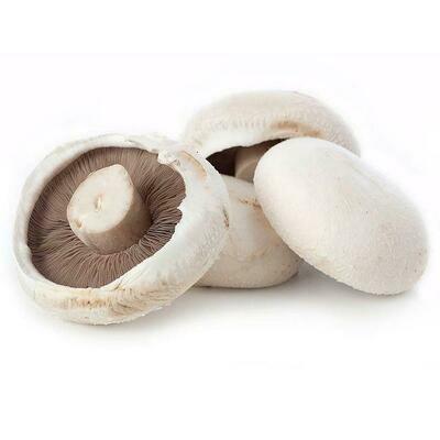 Flat Mushrooms £2.00 per 500g