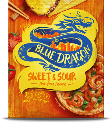 Blue Dragon Sweet & Sour Sachet Sauce (120g)