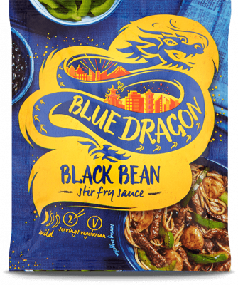 Blue Dragon Black Bean Sachet Sauce (120g)