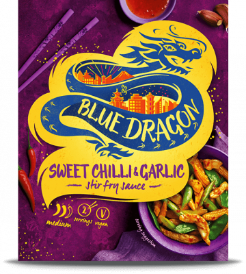 Blue Dragon Sweet Chilli & Garlic Sachet Sauce (120g)
