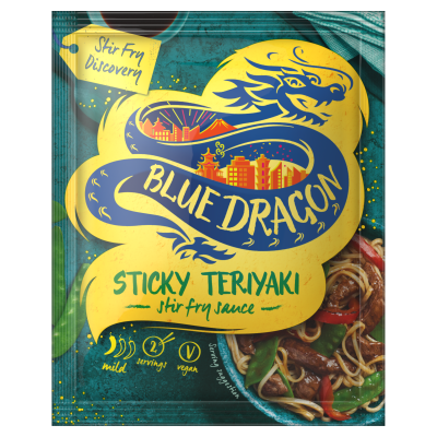 Blue Dragon Sticky Teriyaki Sachet Sauce (120g)