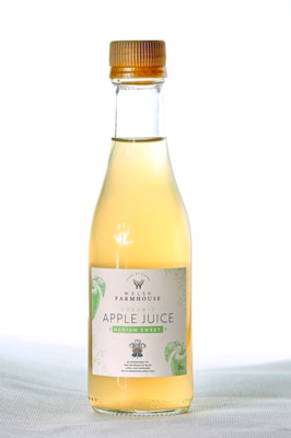 Welsh Farmhouse Organic Apple Juice Medium Sweet 25cl