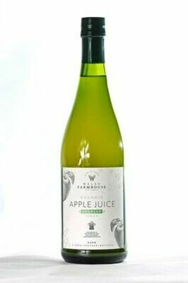 Welsh Farmhouse Organic Apple Juice Medium Sweet 70cl