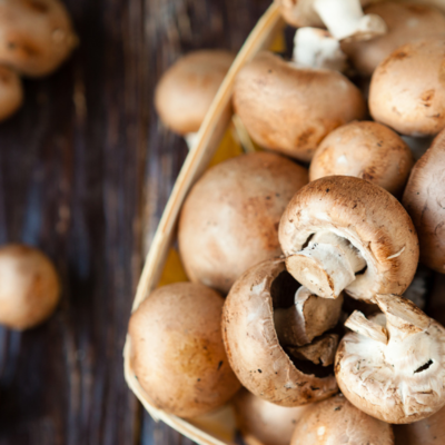 Small Mushrooms £1.60 per 500g