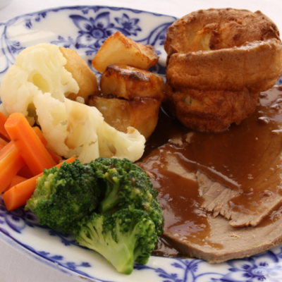 Morris' Sunday Roast Dinner