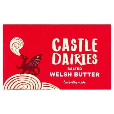 Castle Dairies Salted Butter (250g)
